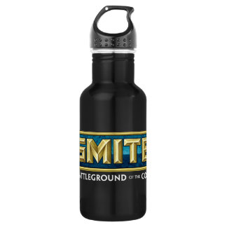 SMITE Logo Battleground of the Gods Stainless Steel Water Bottle