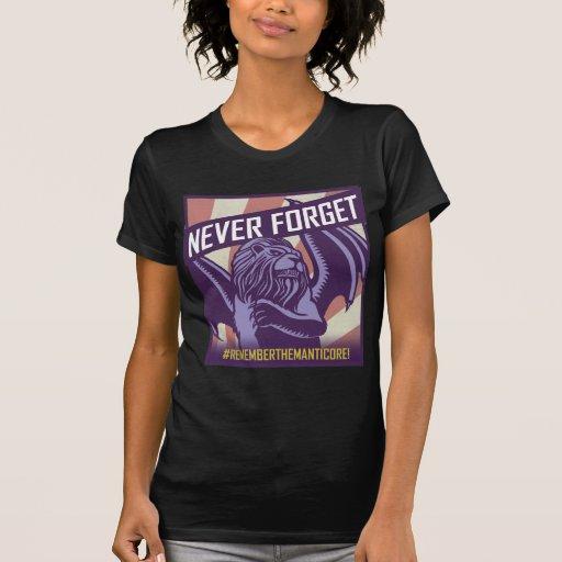 SMITE: Manticore Never Forget Shirt