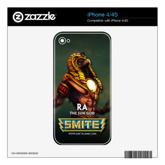 SMITE: Ra, The Sun God Decal For iPhone 4