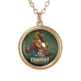 SMITE: Ra, The Sun God Gold Plated Necklace