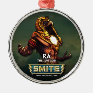 SMITE: Ra, The Sun God Metal Ornament