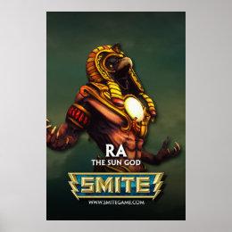 SMITE: Ra, The Sun God Poster