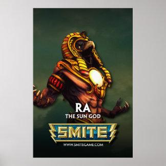 SMITE: Ra, The Sun God Print