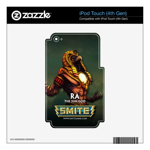 SMITE: Ra, The Sun God Skins For iPod Touch 4G