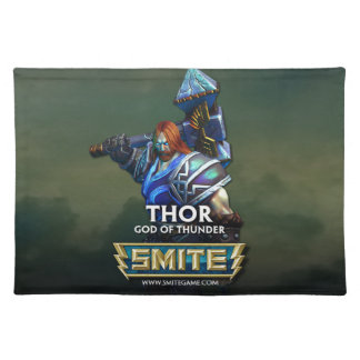 SMITE: Thor, God of Thunder Cloth Placemat