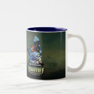 SMITE: Thor, God of Thunder Two-Tone Coffee Mug