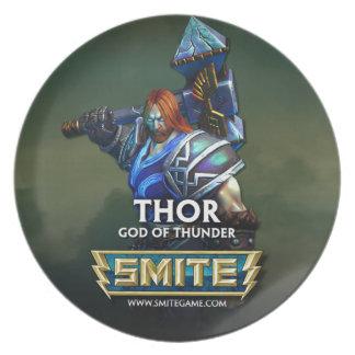 SMITE: Thor, God of Thunder Dinner Plates