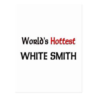 Smith blanco más caliente del mundo tarjetas postales