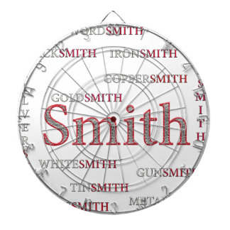 SMITH BRAND DARTBOARD WITH DARTS