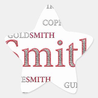 SMITH BRAND STAR STICKER