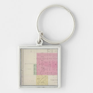 Smith Centre, Gould City, Motor, Webster, Kansas Keychain