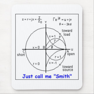 SMITH CHART MOUSE PAD