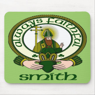 Smith Clan Motto Mouse Pad