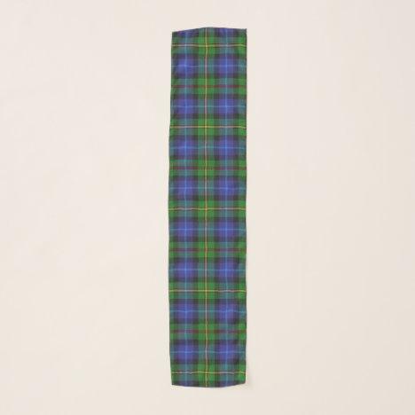 Smith Clan Scottish Tartan Plaid Pattern Scarf