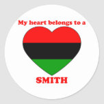 Smith Classic Round Sticker