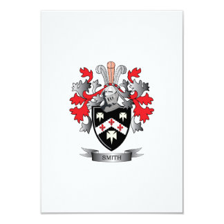 Smith Coat of Arms Card