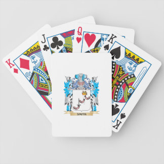 Smith- Coat of Arms - Family Crest Bicycle Playing Cards