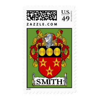 Smith Coat of Arms Postage Stamps