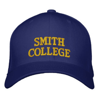Smith College Embroidered Hat
