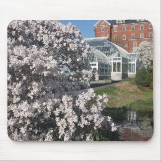 Smith College Lyman Plant House in Spring Mouse Pad