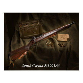 Smith Corona M1903A3 Poster