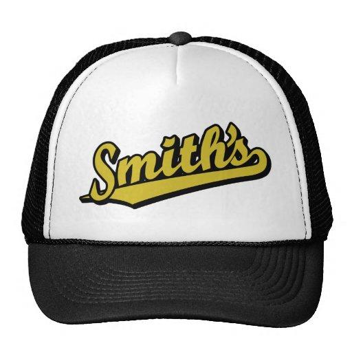 Smith en oro gorra