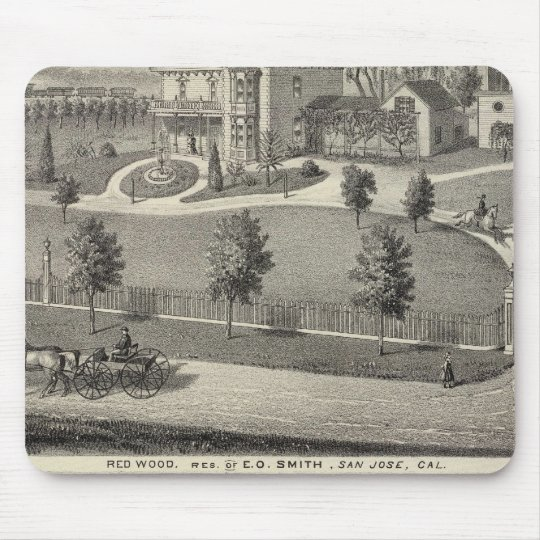 Smith, Evans residences Mouse Pad