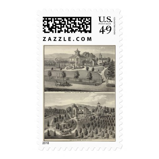 Smith, Evans residences Stamps