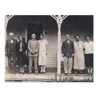 Smith Family, around 1930 Postcard