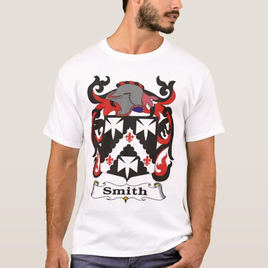 Smith Family Coat of Arms T-shirt