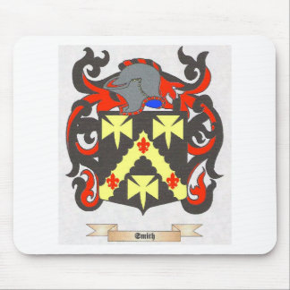 Smith Family Crest Heraldry Image to personalize Mouse Pad
