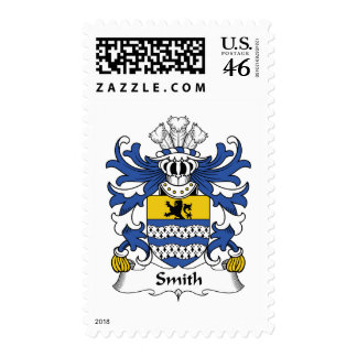 Smith Family Crest Postage Stamp
