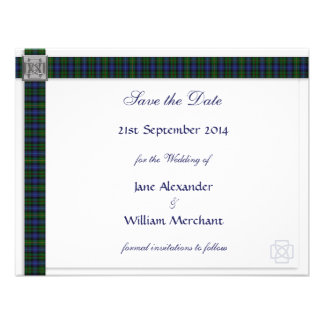 Smith (Gow) Tartan Save the Date Announcement
