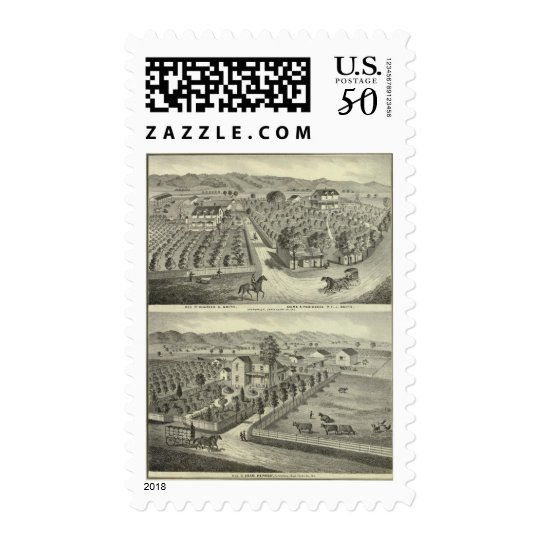Smith, Herman residences, store Postage