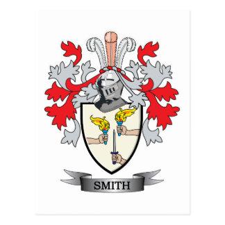 Smith-Ireland-Coat-of-Arms Postcard