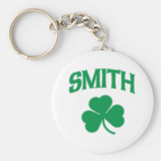 Smith Irish Shamrock Keychain