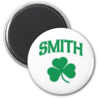 Smith Irish Shamrock Magnet