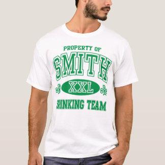Smith Irish Surname Drinking Team T-Shirt