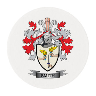 Smith-Irlanda-Capa-de-Brazos Láminas De Glaseado Redondas