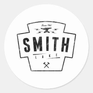 Smith Lake Classic Round Sticker