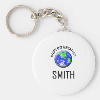 Smith más grande del mundo llaveros personalizados