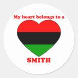 Smith Pegatinas Redondas