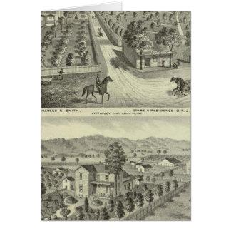 Smith, residencias de Herman, tienda Tarjeta De Felicitación