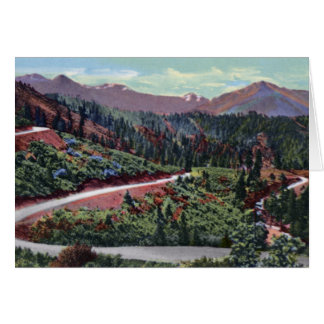 Smith River Divide Oregon California State Line Card