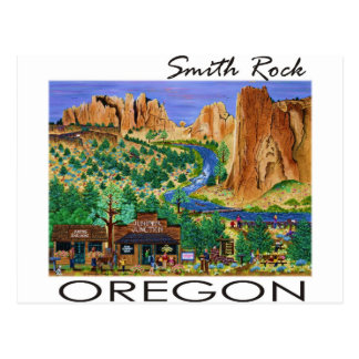 Smith Rock ~ Oregon Postcard