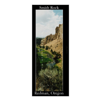 Smith Rock Poster
