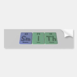 Smith-Sm-I-Th-Samarium-Iodine-Thorium.png Bumper Sticker