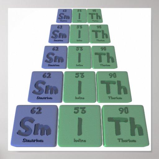 Smith-Sm-I-Th-Samarium-Iodine-Thorium.png Impresiones