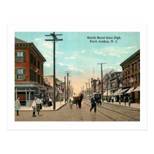 Perth amboy nj postcards zazzle smith st from high st perth amboy nj vintage postcard reheart Image collections