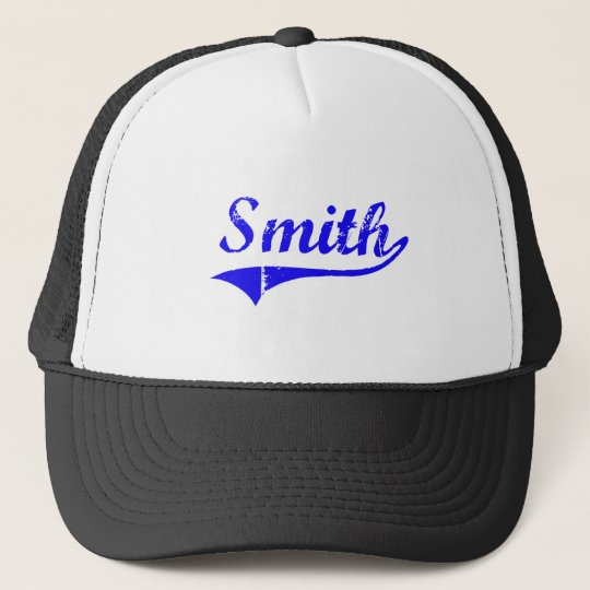Smith Surname Classic Style Trucker Hat
